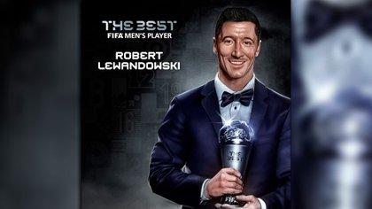 Lewandowski ganó por primera vez el The Best