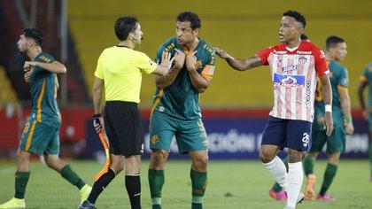En Guayaquil, Junior y Fluminense dividen puntos por Copa Libertadores