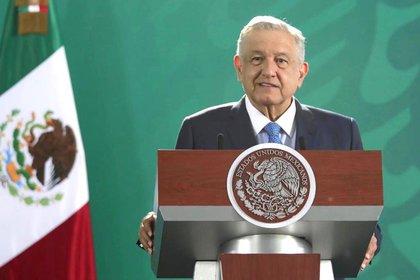 El presidente comentó que el dinero eran aportaciones para financiar a Morena. (Foto: Cortesía Presidencia)