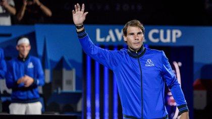 (AFP) Nadal se despidió del torneo por lesión