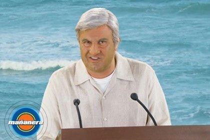 """Ahumada parodió a López Obrador en """"El Privilegio de Mandar"""" (Instragram)"""