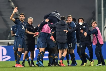 Después de eliminar a la Juventus (REUTERS / Massimo Pinca), Porto golpeó en la ronda 16.