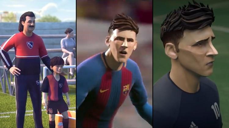 La vida de Lionel Messi en versión animada: el emotivo video que ...