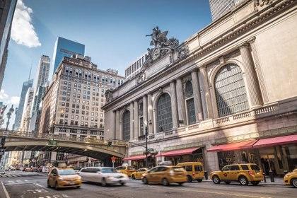 """""""Grand Central"""", un paseo obligado si se visita Nueva York. Ubicado sobre la 42st es la vía de transporte que conecta la ciudad con otras (Getty Images)"""