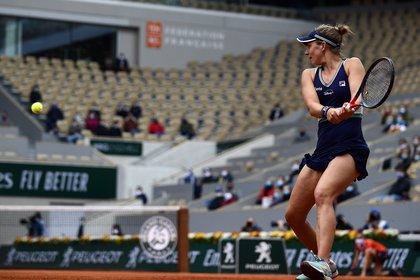 Podoroska ya se aseguró ganar más dinero en este torneo que el obtenido en toda su carrera (Foto: EFE)