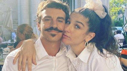 Sebastián Graviotto y Juana Repetto
