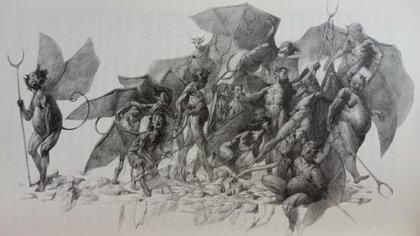 Ilustración de Julián de la mota para la edición de Audisea