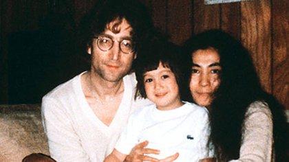 Álbum familiar. John, Sean y Yoko solo disfrutaron 5 años juntos.