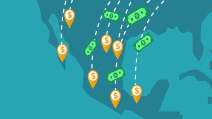 Cuáles son los países que más captaron remesas en 2020 y en qué lugar está México