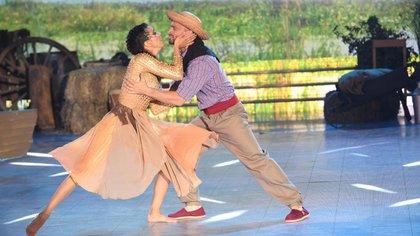 En 2019, Cinthia y Martín fueron pareja del Bailando