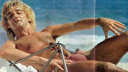 Rod Stewart en sus vacaciones en Río de Janeiro