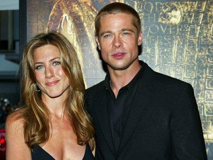Brad Pitt y Jennifer Aniston (Reuters)