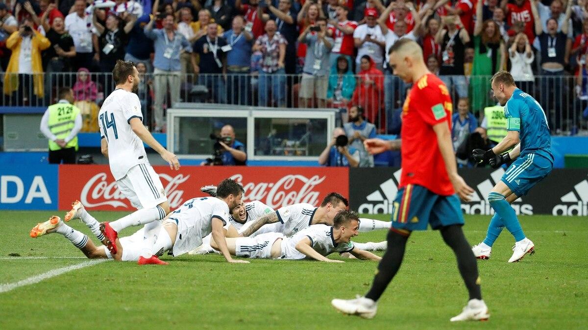 a38f6820830c6 España también quedó eliminada del Mundial - Infobae