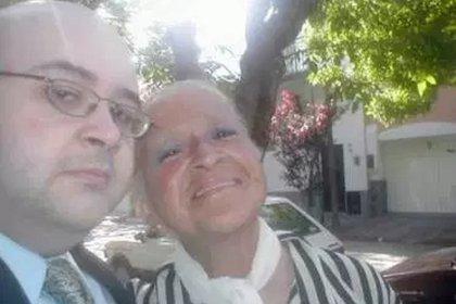 Jorge Porcel Jr. y Norma de Mauricio