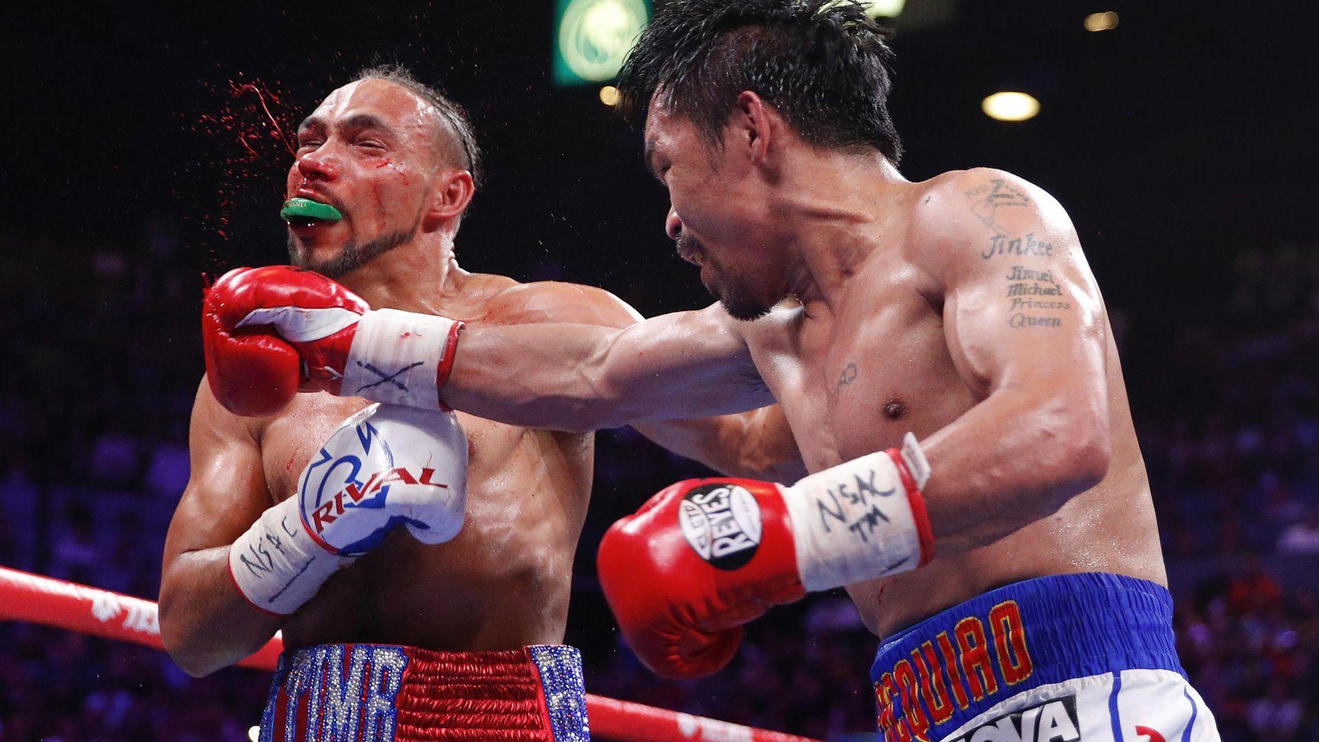 Manny Pacquiao se consagró como campeón mundial por quinta vez en su carrera (Foto: AP)