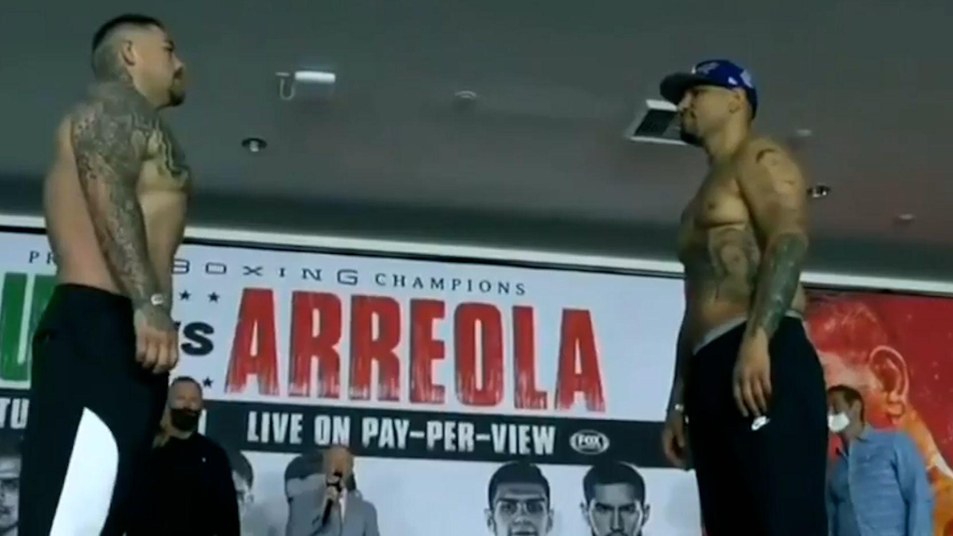 Andy Ruiz vs Chris Arreola - Ceremonia