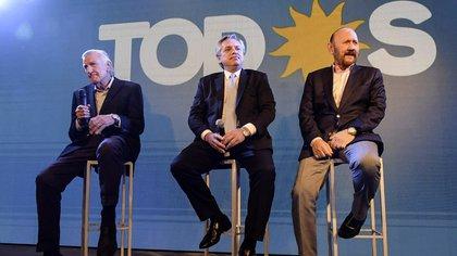 Alberto Fernández durante su última visita al PJ. Un sector del peronismo quiere que sea el presidente del partido (NA)