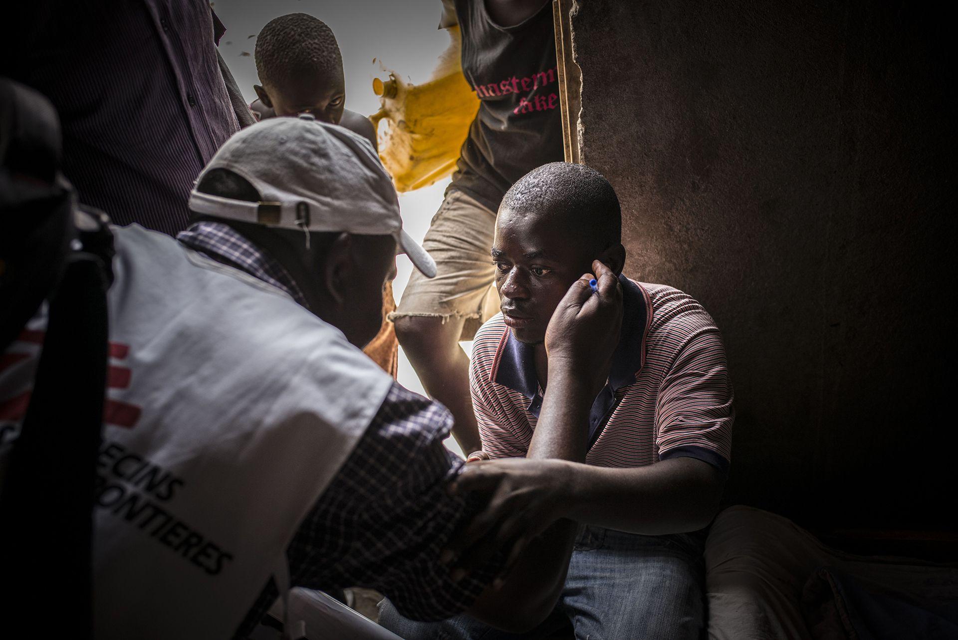 Una estimación matemática habla de un aumento importante en el número de casos por VIH en África del Sur y África del Este por la pandemia COVID-19 (©Guillaume Binet/MYOP)