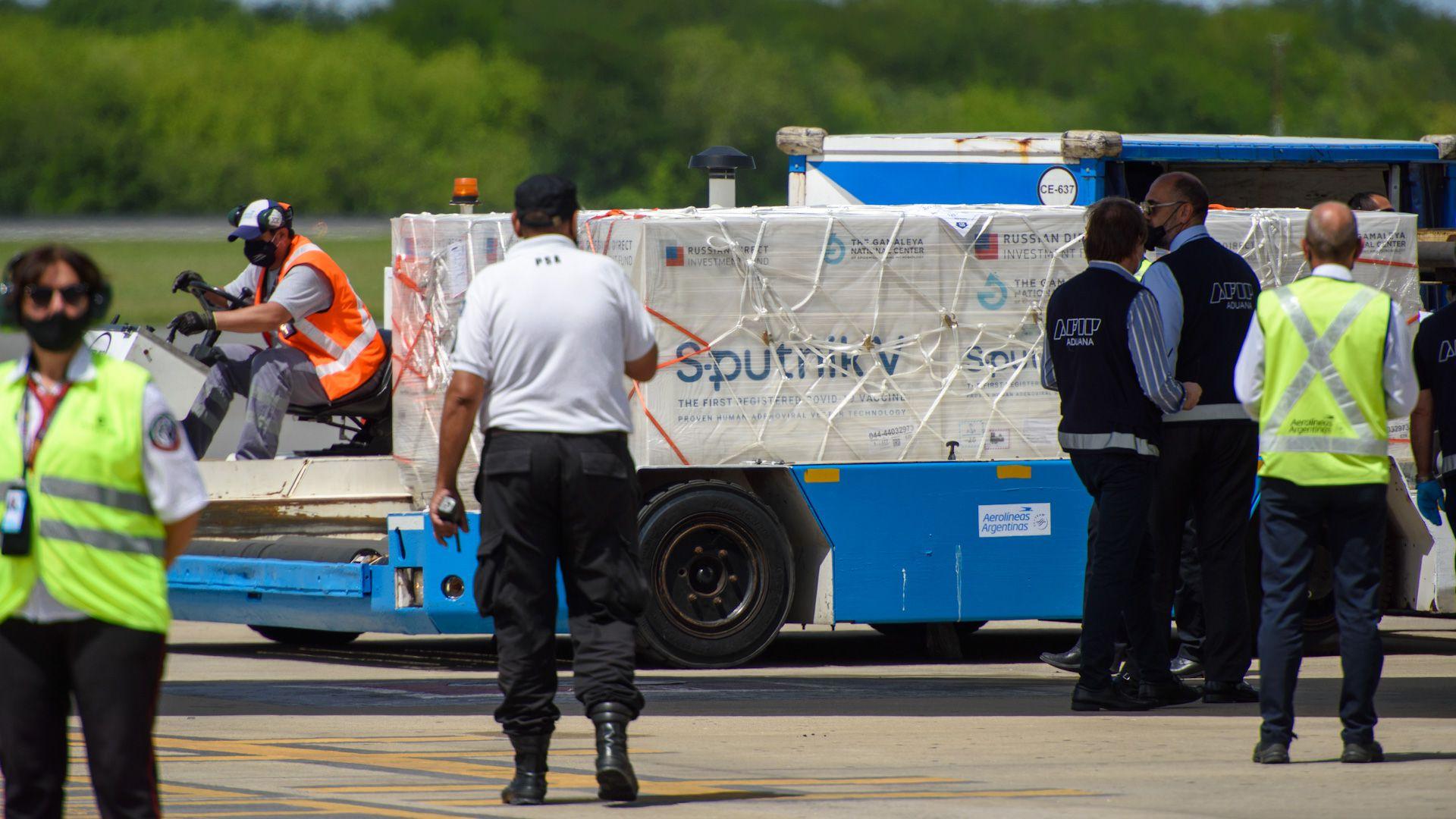 llego avion aerolineas argentinas segunda tanda vacuna rusa sputnik V