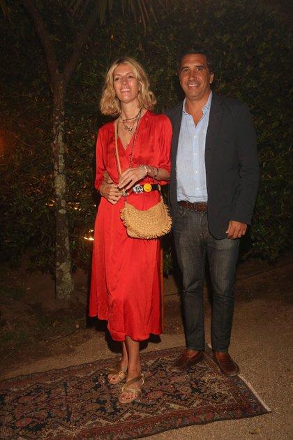 Luisa de Álzaga y Arturo Grimaldi