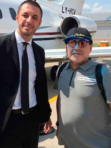 Maradona le solicitó a su abogado Matías Morla, que pusiera todo su esfuerzo en las causas, porque quiere recuperar tanto sus trofeos como la parte que le correspondería del dinero de los departamentos que Villafañe vendió en Miami.