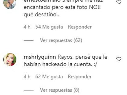 Su publicación recibió más de mil comentarios