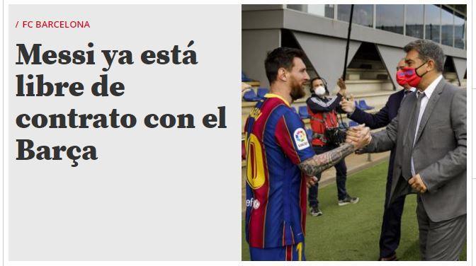 Messi libre