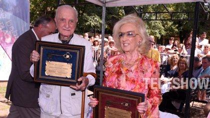 José Martínez Suárez y Mirtha Legrand