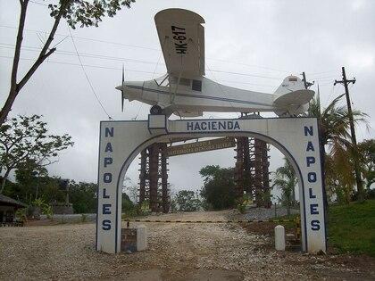 La Hacienda Nápoles de 1920 hectáreas de extensión fue adquirida por Pablo Escobar en 1978.