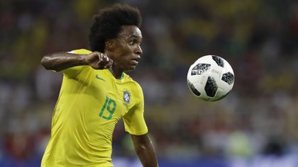 Willianjugará la Copa América de Brasil 2019 en lugar de Neymar, que se lesionó en su tobillo derecho