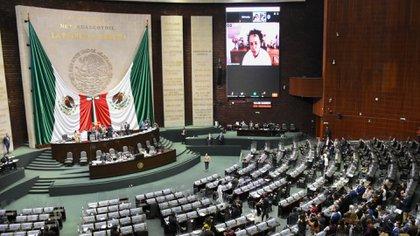 La Cámara de Diputados también se ha visto afectada por los contagios y muertes causados por el COVID-19 (Foto: Cuartoscuro)