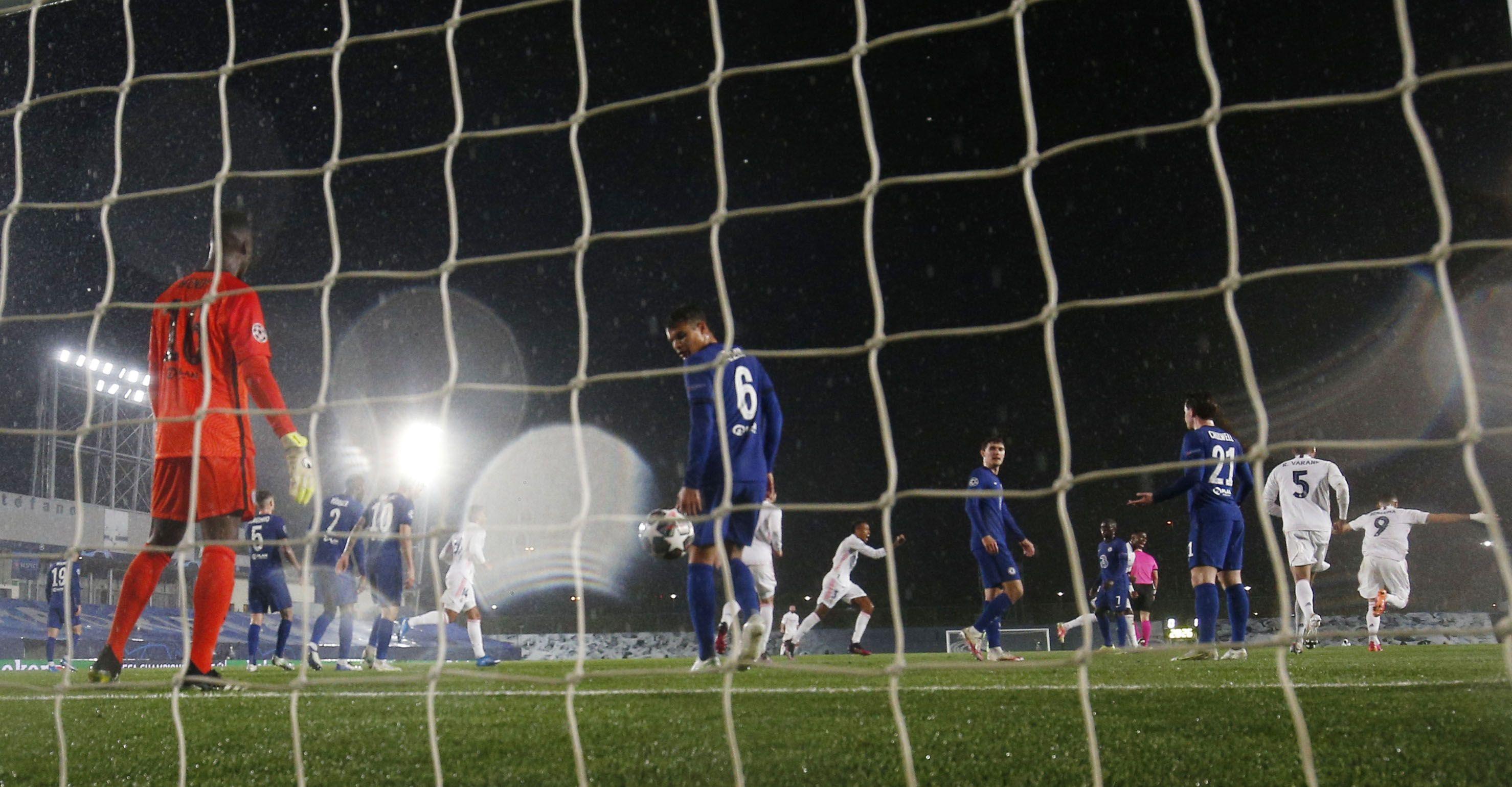 El Real Madrid deberá convertir para comenzar a pensar en la final (Reuters)