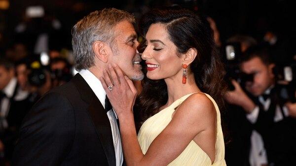 """El padre de Clooney aseguró que su hijo quedó """"hipnotizado""""al verla (Foto: Getty)"""