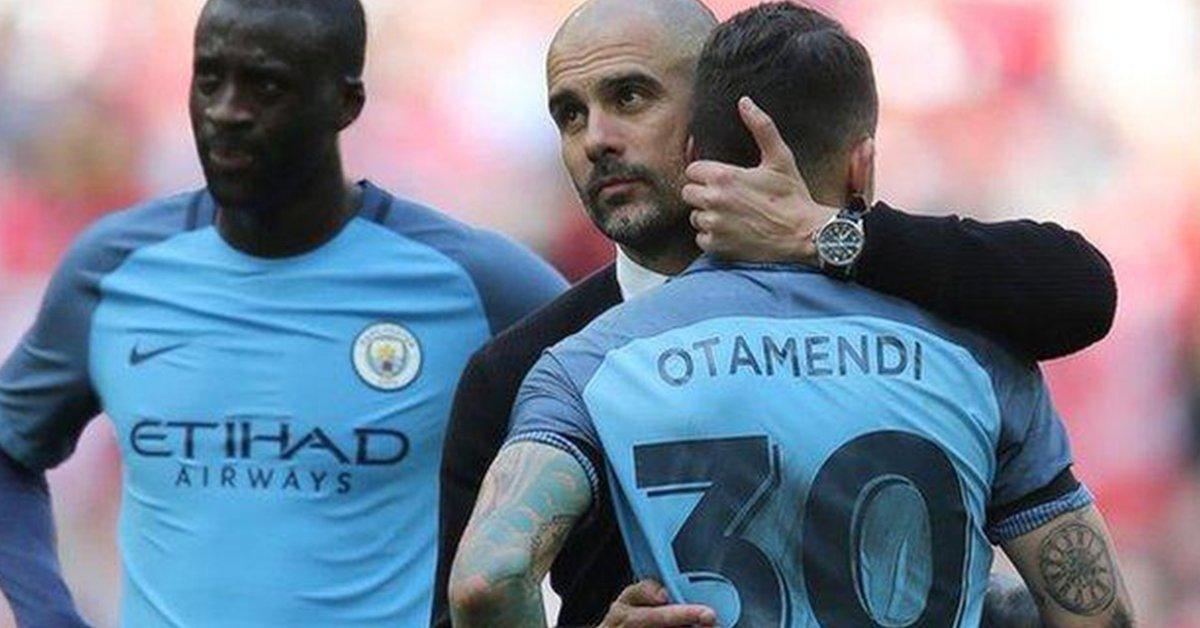 El elogio especial que le dedicó Pep Guardiola a Nicolás Otamendi en su despedida del Manchester City - Infobae