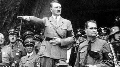 El brutal dictador Adolf Hilter. Se estima que seis millones de judíos fueron masacrados durante su mandato (AP)