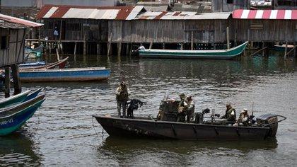 Tumaco, en el departamento de Nariño, es una de las zonas en las que los grupos ilegales están imponiendo el toque de queda,