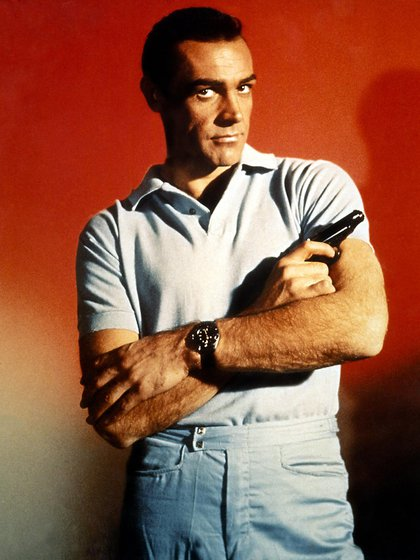 Bond, James Bond... (Shutterstock)