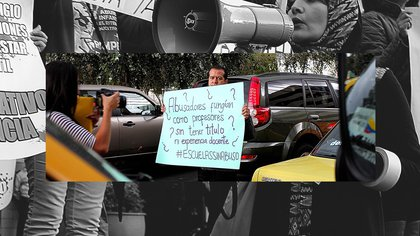 Collage basado en fotos de Ricardo Grande. VICE News