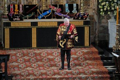 El momento de la proclamación de los títulos y estilos del príncipe Felipe