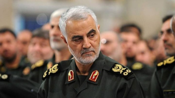 Qasem Soleimani, líder de la Fuerza Quds del Cuerpo de la Guardia Revolucionaria de Irán