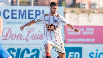 Zacarías Morán Correa, en su paso por Chacarita (Club atlético Chacarita Juniors)