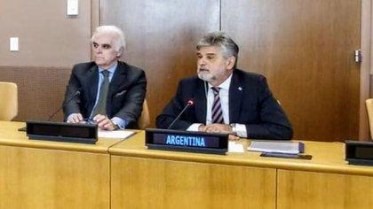 El secretario de Malvinas, Daniel Filmus, ratificó la intención del Gobierno de fijar por ley la nueva demarcación de límites de Argentina