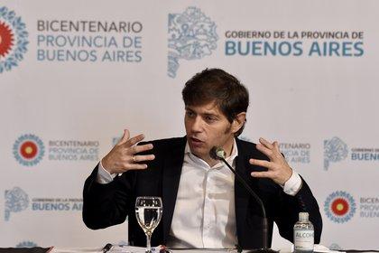 El gobernador de Buenos Aires, Axel Kicillof (Aglaplata)