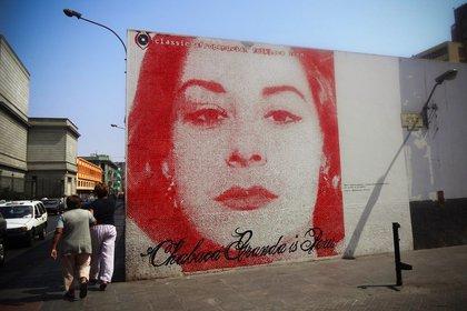 """""""Chabuca Granda es Perú"""" dice un mural limeño dedicado a la artista"""