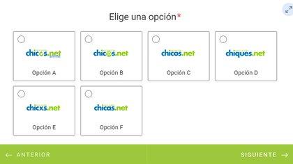 Chicos.net ofrece opciones para buscar un nombre más inclusivo a través de la campaña #UnNombreParaChicosNet