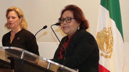 Blanca Alicia Mendoza Vera, titular de la Profepa, solicitó justificación documental que motivó castrar al oso (Foto: Twitter@cadenapolitica)