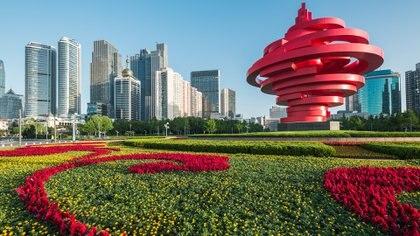 Qingdao está a punto de volverse aún más verde con la llegada del nuevo China Eden en 2020, el primero de su tipo fuera del Reino Unido