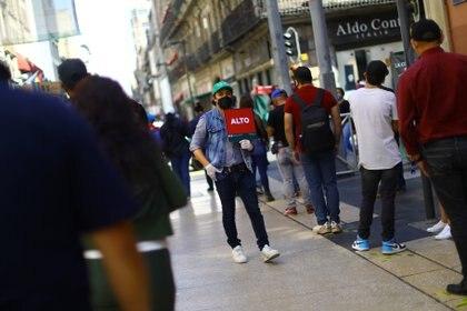 En la República mexicana se confirmaron un millón 25 mil 969 contagios acumulados de coronavirus hasta el 20 de noviembre de 2020 (Foto: REUTERS/Edgard Garrido)