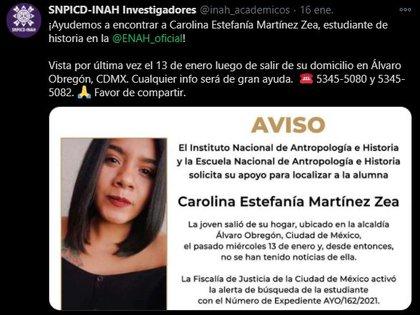 El cuerpo de la joven fue hallado dentro de su propio hogar (Foto: Captura de Pantalla/ Twitter)