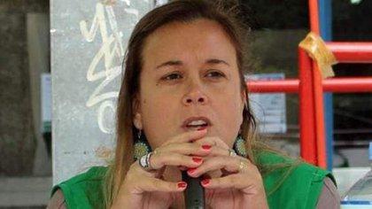 La secretaria adjunta de la Asociación de Trabajadores del Estado (ATE) de la Provincia de Buenos Aires, Vanina Rodríguez
